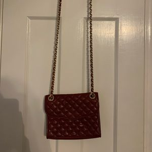 Burgundy Rebecca Minkoff Crossbody Bag